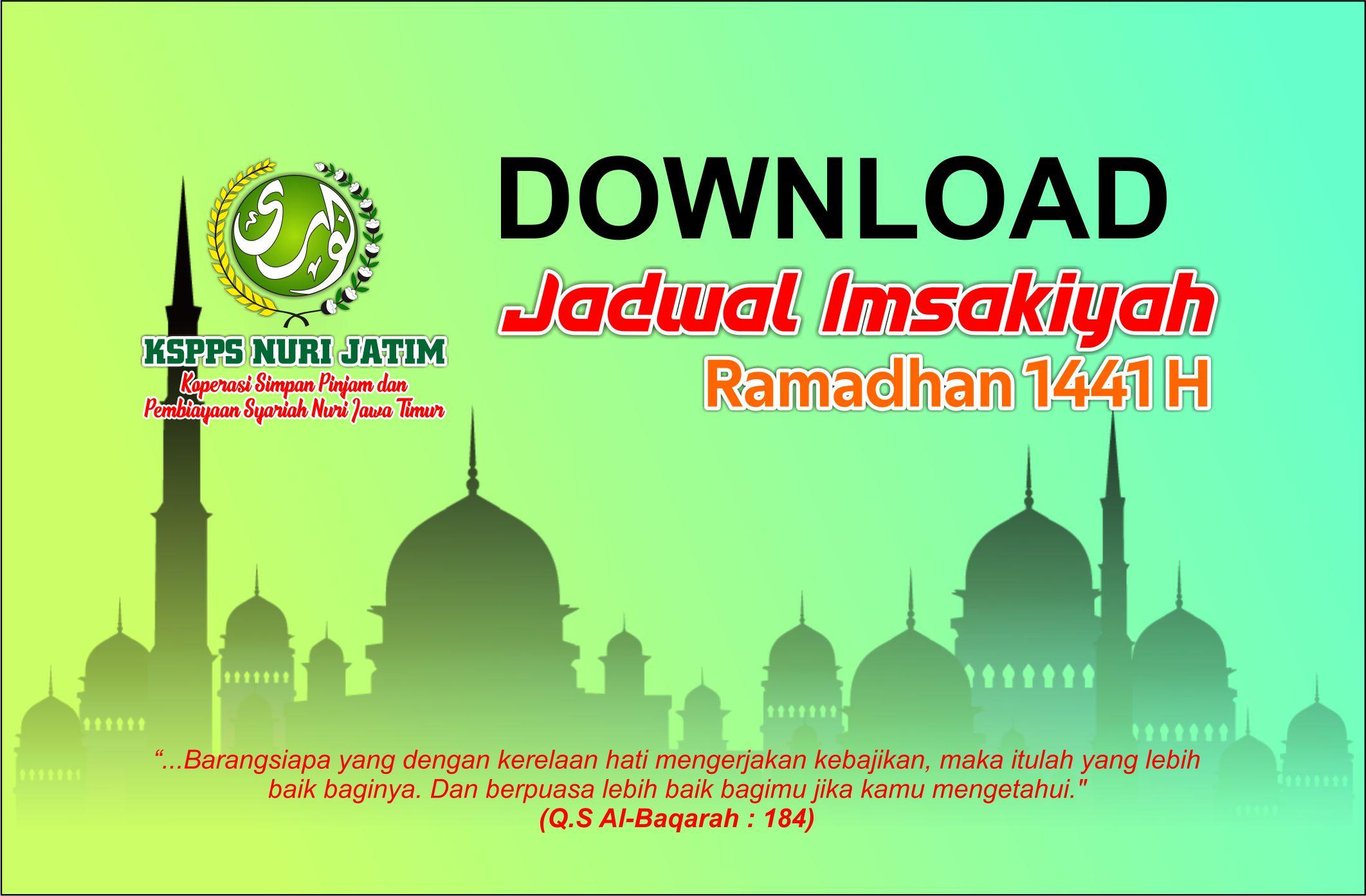 Download Jadwal Imsakiyah dan Buka Puasa Ramadhan 2020 M ...